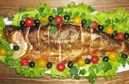 Копченая рыба - Рецепты копченой рыбы - Как правильно приготовить