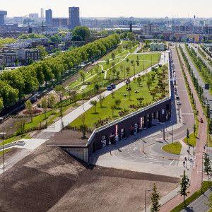 The Rotterdam Four Harbour Roof Park | Buro Sant en Co