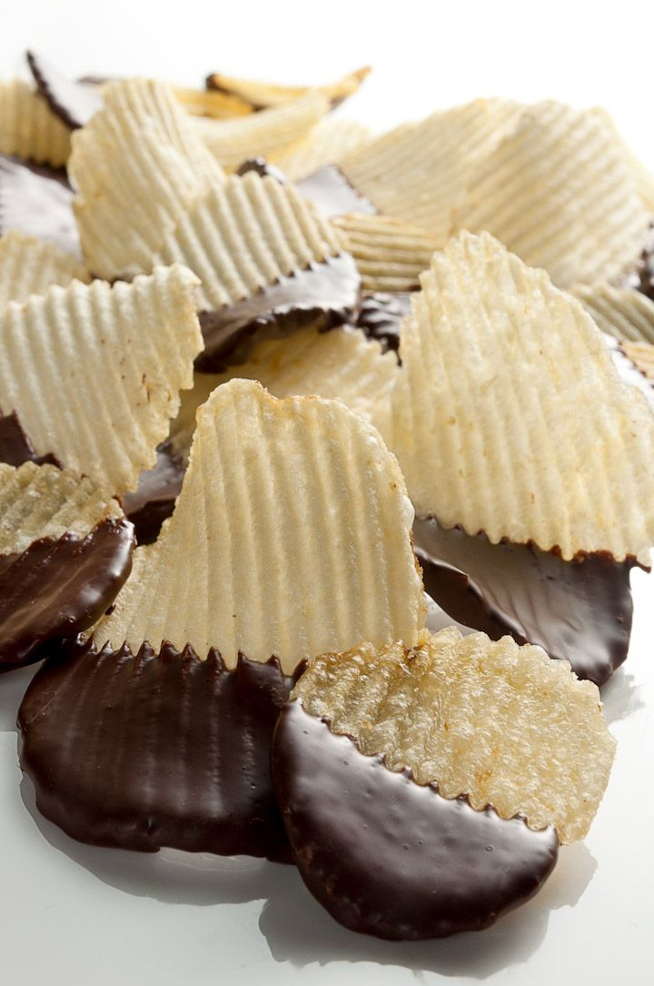 Chocolate Dipped Potato Chips Recipe Dishmaps