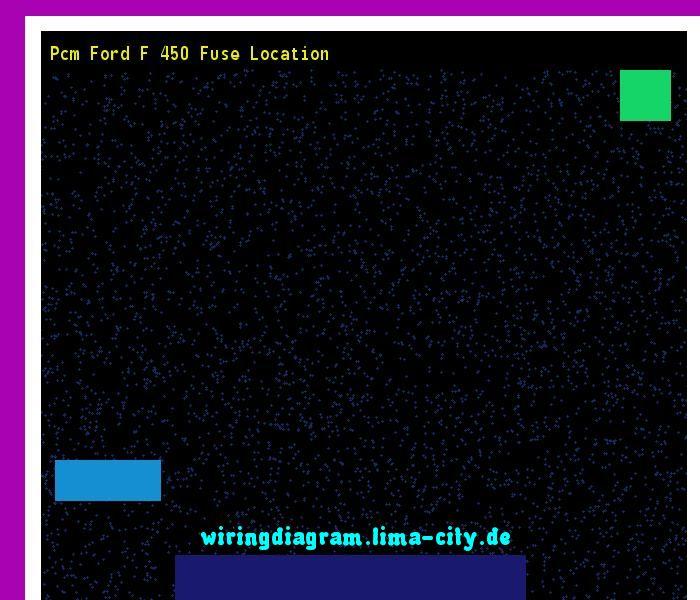 Pcm Ford F 450 Fuse Location  Wiring Diagram 18148