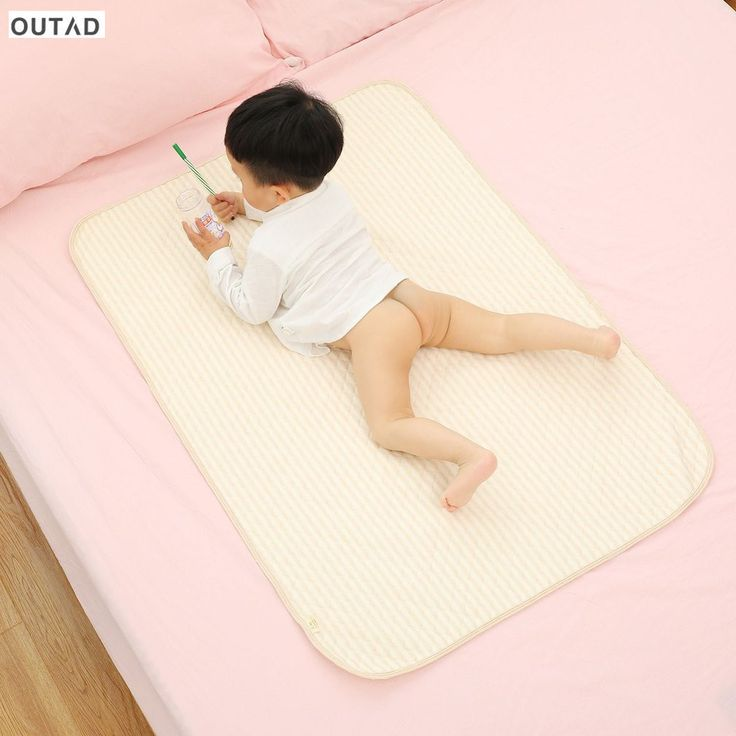 >> Click to Buy << 2017 Baby Pads Covers Organic Colored Cotton Waterproof Layer Changing Mat Urine Pad Bed Sheets for Newborn Baby Play Pad New #Affiliate