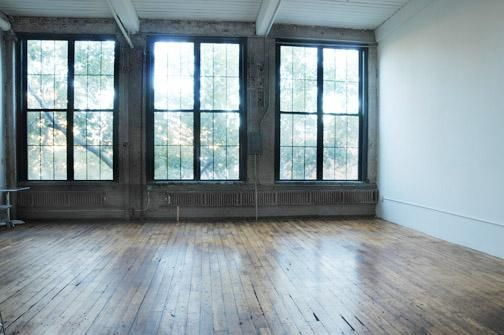 sigh this would make a dreamy studio  Studio inspiration c   Loft spaces New york studio