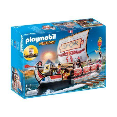 Witajcie:)     Weźcie udział w bitwie na morzu:)     Zestaw Playmobil 5390 - Rzymska Galera z ustawianymi żaglami dla dzieci już od lat 6.      Rzymscy wojownicy, tarcze, miecz, łódź z wiosłami, miejsce na przechowywanie jedzenia.     Bitwę można przeprowadzić w basenie lub w czasie kąpieli :)    http://www.niczchin.pl/playmobil-history/4043-playmobil-5390-rzymska-galera.html    #playmobil #rzymskagalera #wojonicy #zabawki #niczchin #kraków