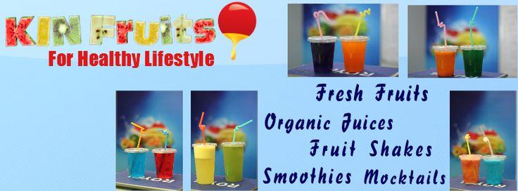 KIN Fruits & Fresh Vegetables Juice Cafe Facebook Page  https://www.facebook.com/pages/KIN-Fruits-Fresh-Juice-Cafe/221637961319100