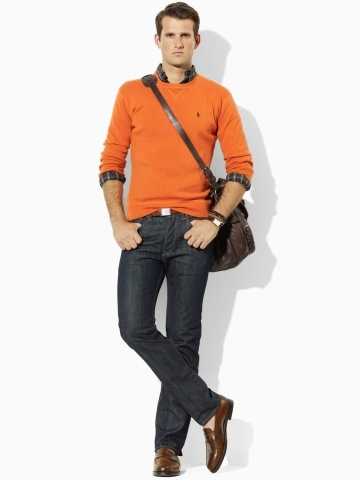 Ralph Lauren (POLO line) Cotton Crewneck Sweater Price: $98.00 | Sale Price: $49.99