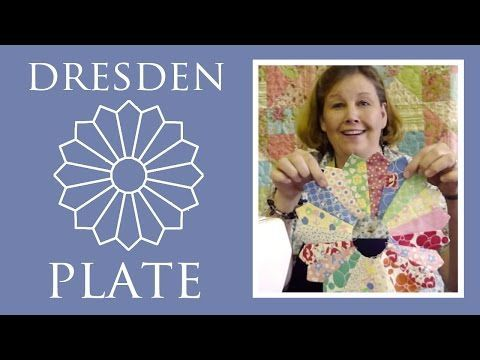 Dresden Plate Tutorial - Quilting Made Easy! - YouTube