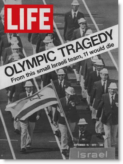 The Munich massacre was an attack during the 1972 Summer Olympics in Munich, West Germany, on 11 members of the Israeli Olympic team, who were taken hostage and eventually killed, along with a German police officer, by the Palestinian group Black September. The attackers were apparently given logistical assistance by German neo-Nazis. Five of the eight members of Black September were killed by police officers during a failed rescue attempt.