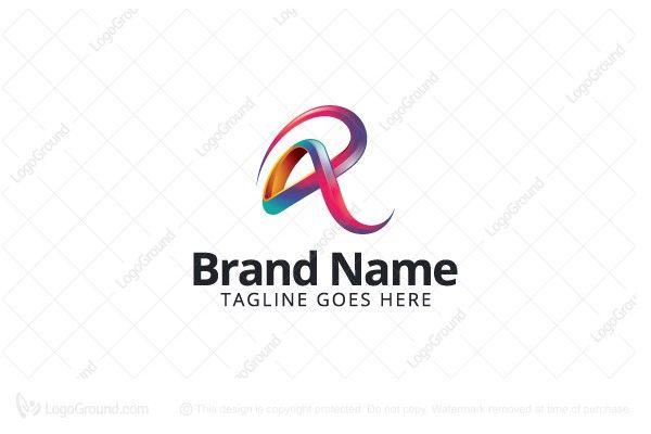 Logo for sale: Colorful Letter R Logo