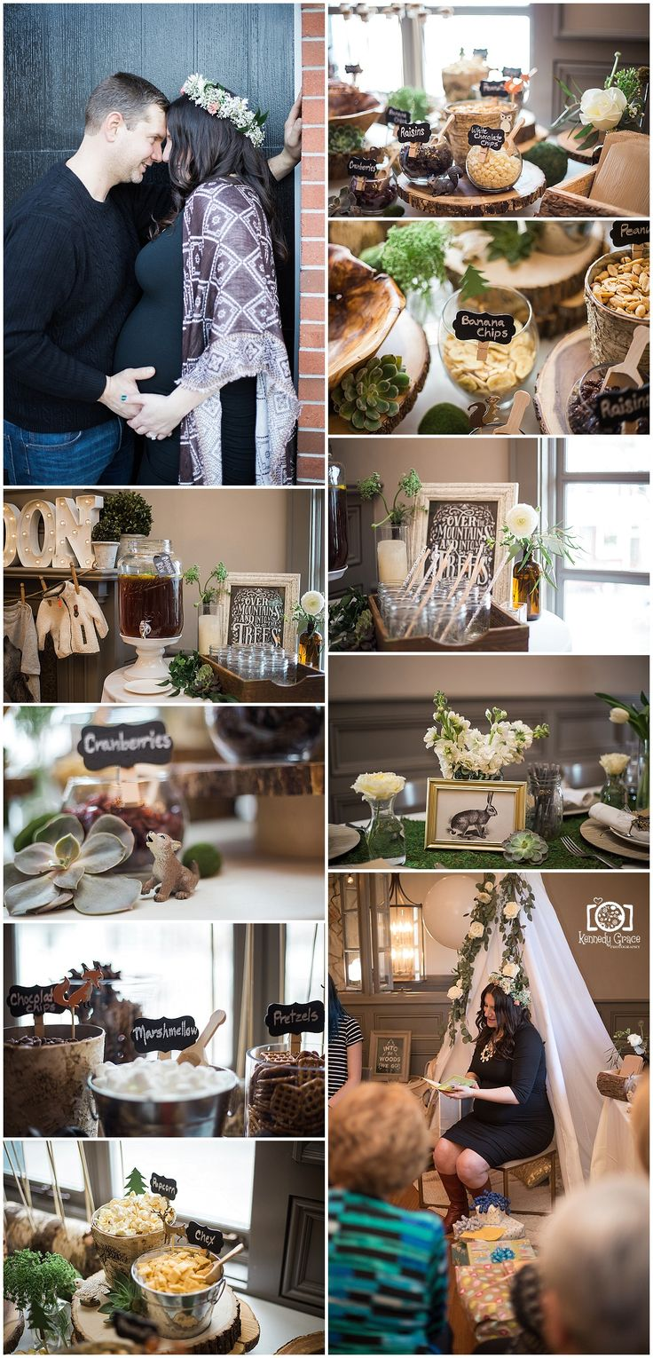 Woodland Theme Baby Shower Woodsy Boho Themed Boy Decor Ideas Piermont NY