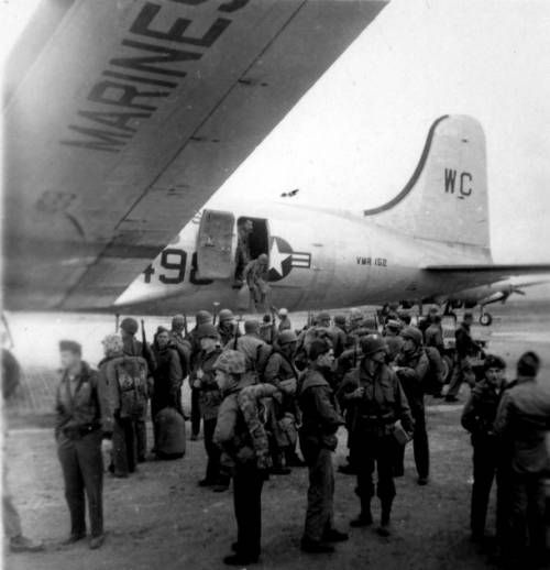 Page 1 :: Marines and airplanes in Korea :: Korean Digital Archive. http://digitallibrary.usc.edu/cdm/ref/collection/p15799coll48/id/4455