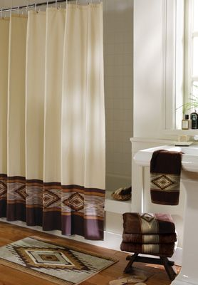 Southwest Bath Shower Curtain from Collections Etc.