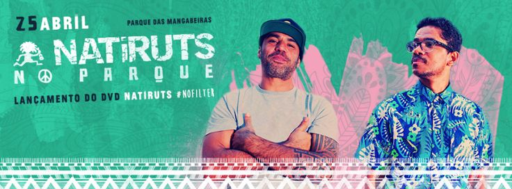 Este sábado em Belo Horizonte você vai poder curtir o melhor do reggae brasileiro no show de Natiruts. Vem pra Minas, Vem pro Reggae! #natiruts #bh #belohorizonte #reggae #partiubh #nofilter