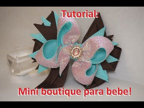Tutorial: Mini Boutique para bebe! [58] - YouTube