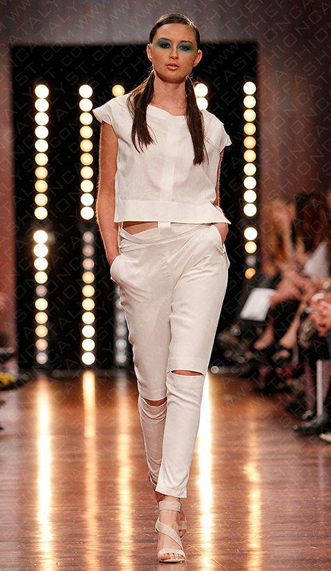 Perth fashion festival student runway rental dresses