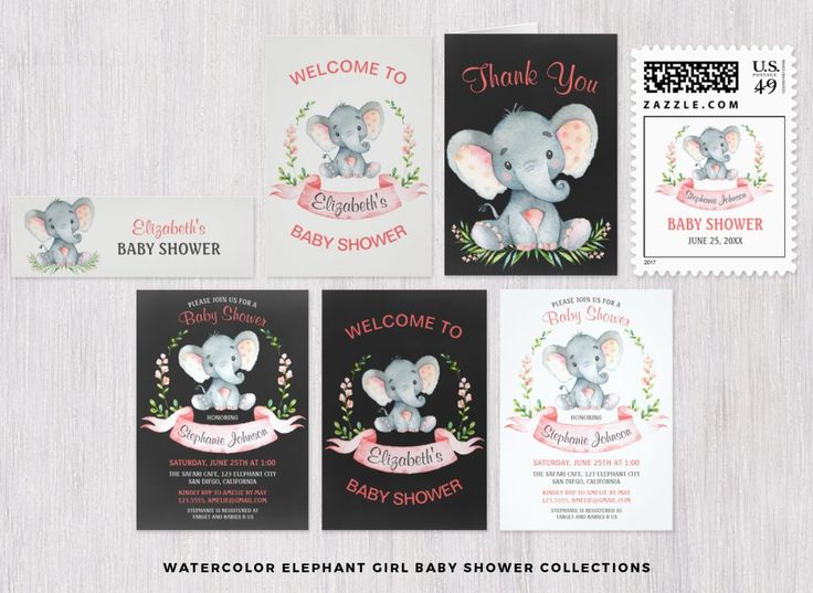 Themed Baby Showers – CS Invitations & More!