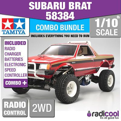 Combo #deal! #58384 #tamiya subaru brat 1/10th r/c kit radio control 1/10 car new,  View more on the LINK: 	http://www.zeppy.io/product/gb/2/381041722867/