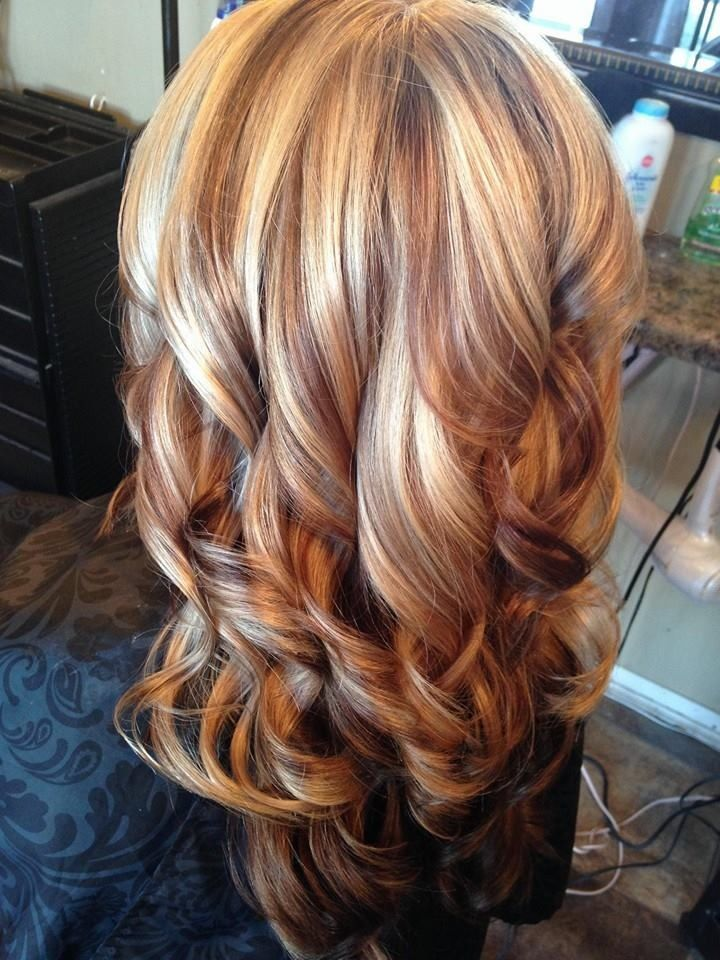 Hair by Carla Carnes owner of Crave Color Salon