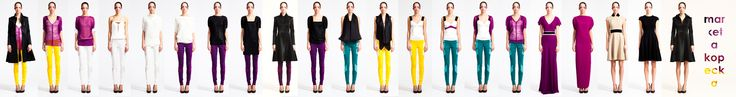 REETIMEE collection CMYK row marketa kopecka