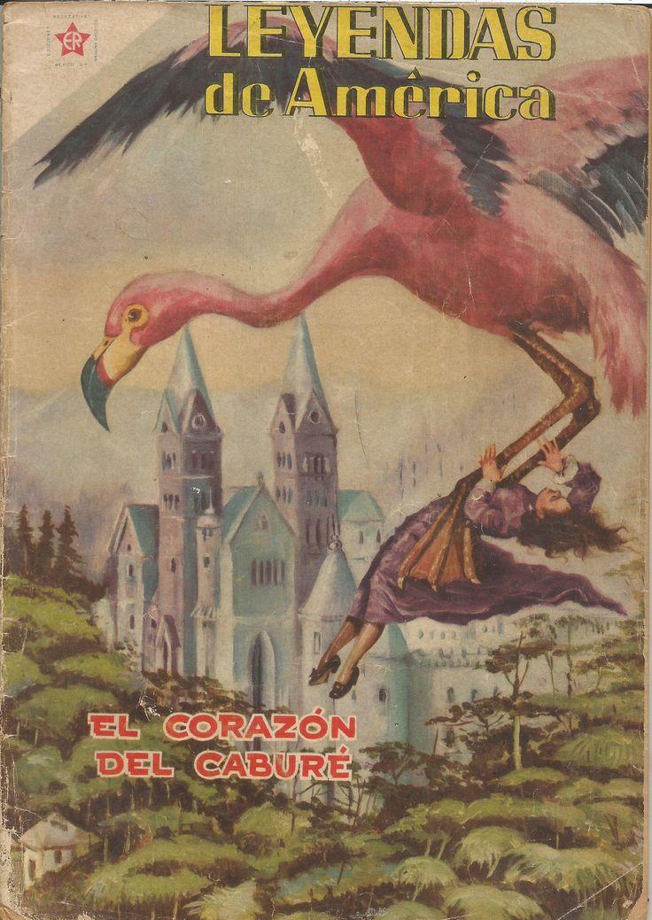 A la par de publicar versiones en español de cómics extranjeros, Novaro también tenía títulos originales como este de 1957