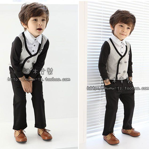 Preppy Outfits For Boys Prom Party Dress Boy Suit Kids