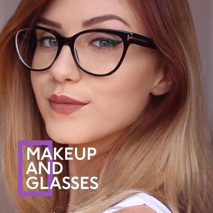 Makeup For Glasses Glasses Makeup Glasses Makeup Simple Everyday Makeup Natural Makeup