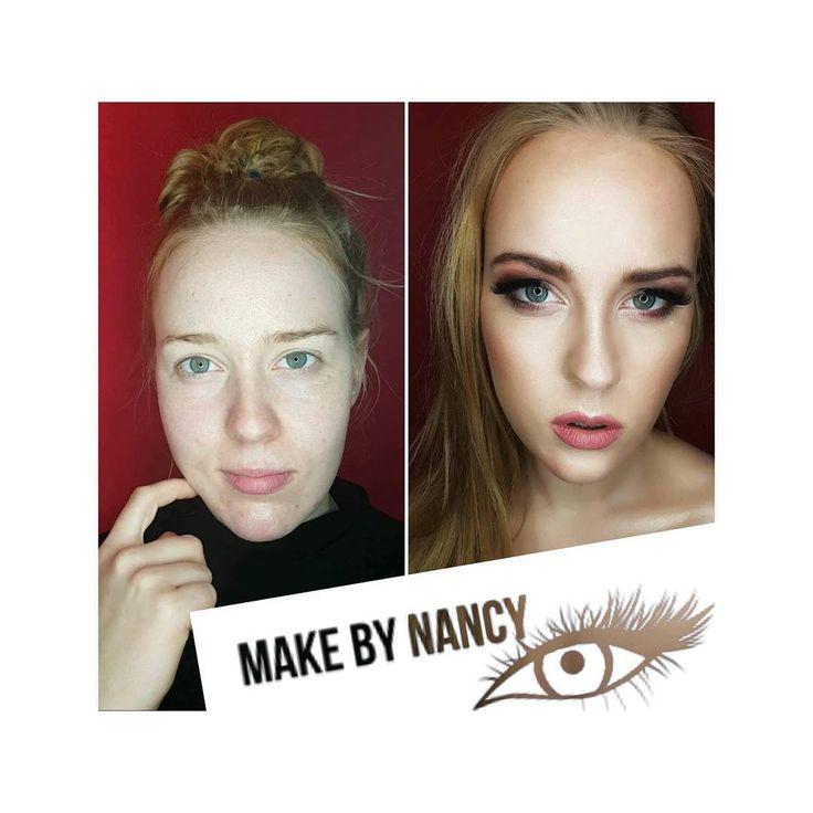 One more time! Metamorfoza 😍 #makeup #metamorfoza #throwback #makijaz #makeupartist #mua #beforeafter #beforeandafter #powerofmakeup #makeuppower #makeplove #makeuplover #makebynancypl #makebynancy #glowmakeup #beauty #przemiana #makeupglow #partymakeup #contouring #contour #flawlessskin #flawless #girl #partygirl #polishgirl #likeit #follow #followme