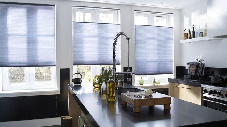 sfeer in huis - plisse gordijnen van Maatstudio - interieur - raamdecoratie