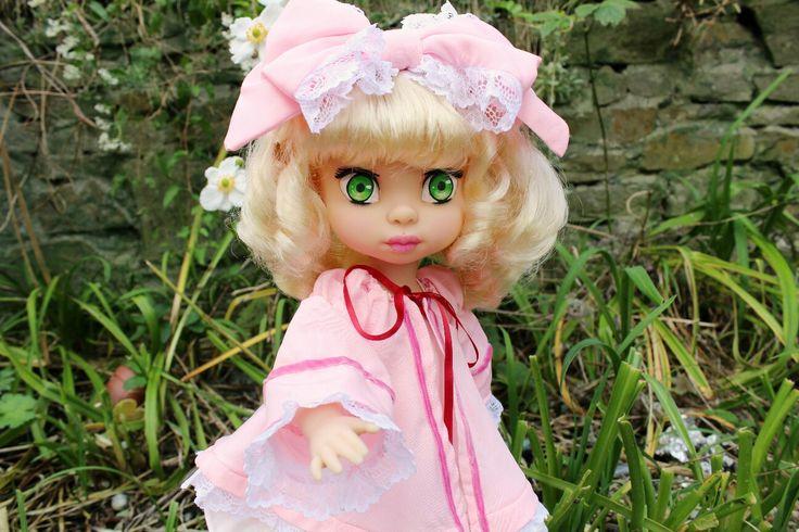 Excited to share the latest addition to my #etsy shop: Hinaichigo, Rozen Maiden animator doll #toys #pink #rozenmaide #hinaichigo #anime #japan #custom #ooak #repaintdoll #animatordisney http://etsy.me/2mIJIA6