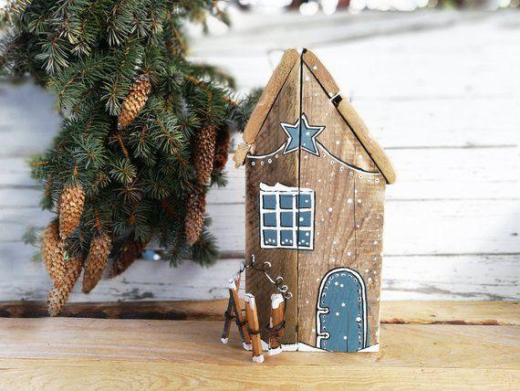 weihnachtsdekoration holz