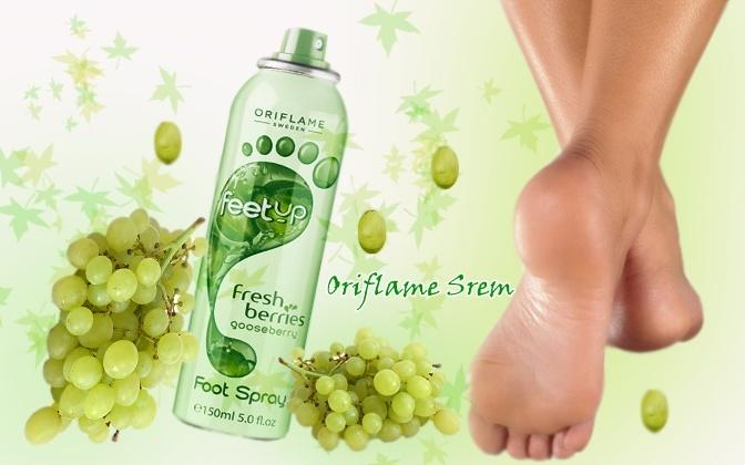 Feet Up sprej za stopala sa ekstraktom grožđa Šifra:25452  Trenutno rashlađuje i revitalizira umorna stopala. Kombinacija antioksidantnog ekstrakta grožđa i peperminta održava njihovu svežinu. 150 ml