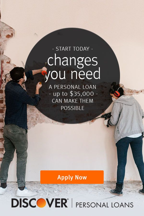It Only Takes A Few Minutes To Begin Start Today Beginning Repairs Personal Loans From Discover Can Help You Can Personal Loans Wonder Quotes How To Apply