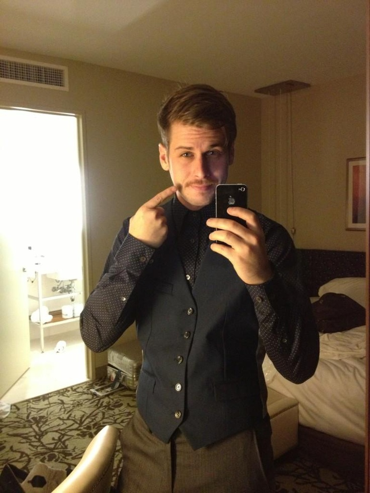 Mark Foster. Amazing stache man!