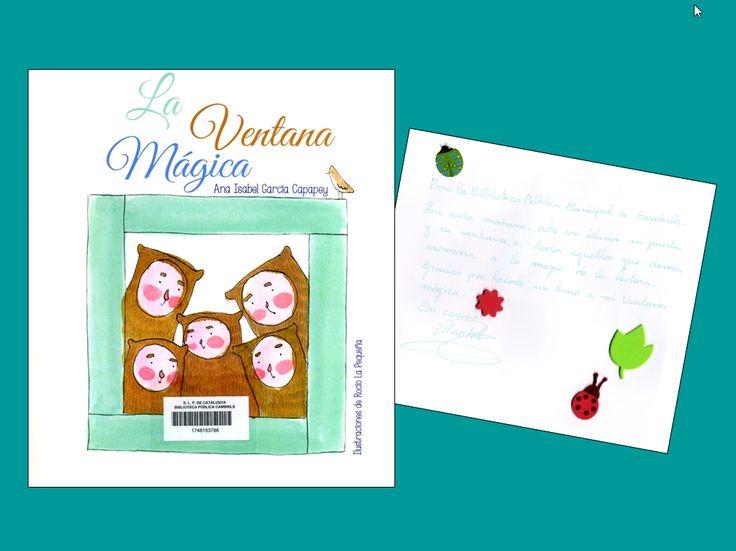 La Ventana mágica, d'Ana Isabel García Capapey i il·lustracions de Rocío La Pequeña