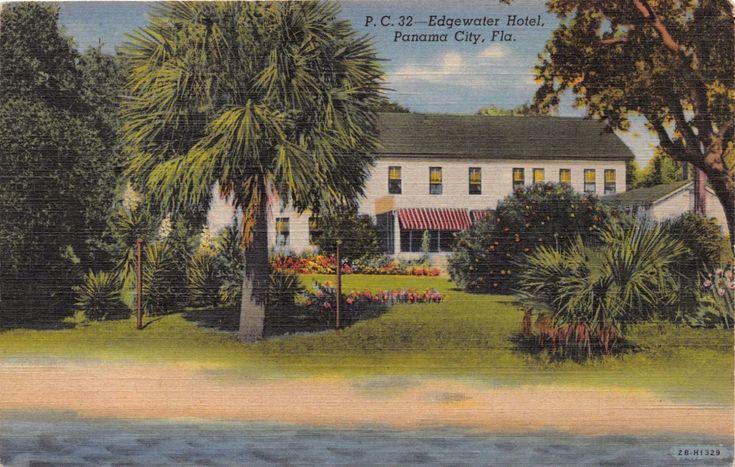 PANAMA CITY EDGEWATER HOTEL 1940s