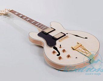 Fai da te Semi Hollow Body Electric Guitar Kit di AlbatrossGuitars