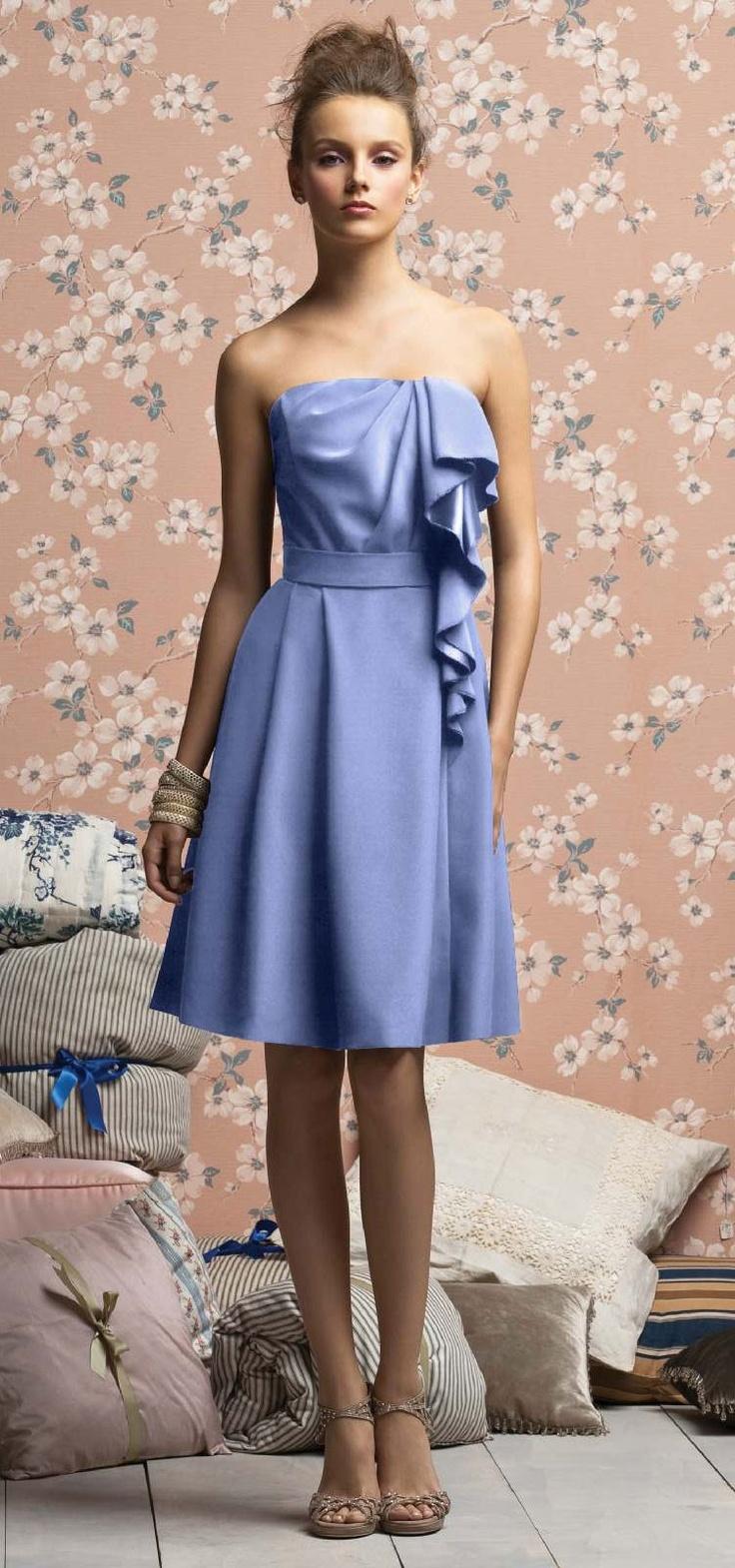 Best 25 periwinkle bridesmaid dresses ideas on pinterest periwinkle bridesmaid periwinkle bridesmaid dressescream weddingblue ombrellifo Images
