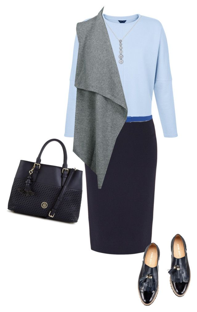 to work by justyna-kowalcze on Polyvore featuring moda, Duffy, Goat, Tommy Hilfiger, Tiffany & Co. and Sofie D'hoore