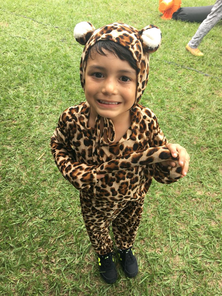 Disfraz de Leopardo realizado por #ViCani_Design