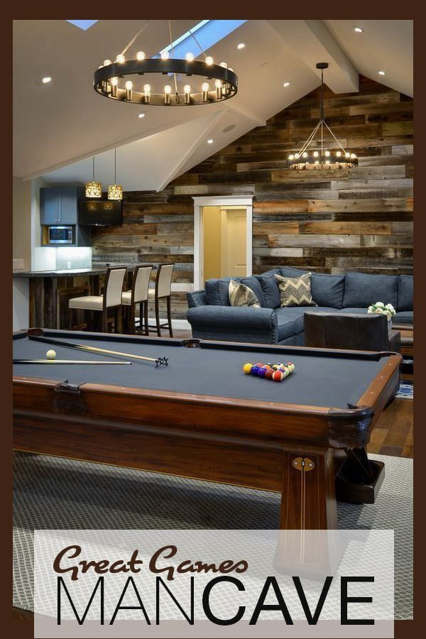 Lighting Ideas For Your Man Cave Game Room Basement Pool Table Room Man Cave Home Bar