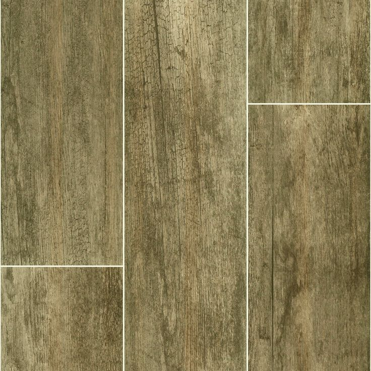 Florida Tile Fumo 8 Quot X 36 Quot Wood Grain Porcelain Plank Porcelain Tile Tiles Plank Flooring