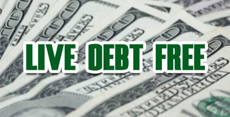 Live debt free! Debt is Dumb! Cash is King!!