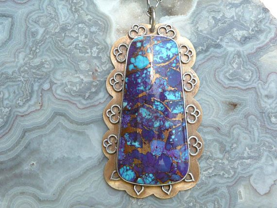 378 best purple turquoise jewelry images on pinterest turquoise reserved purple bronze mohave turquoise mojave by sandicarrico turquoise jewelrybronze aloadofball Gallery