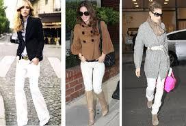 beyaz pantolonlar