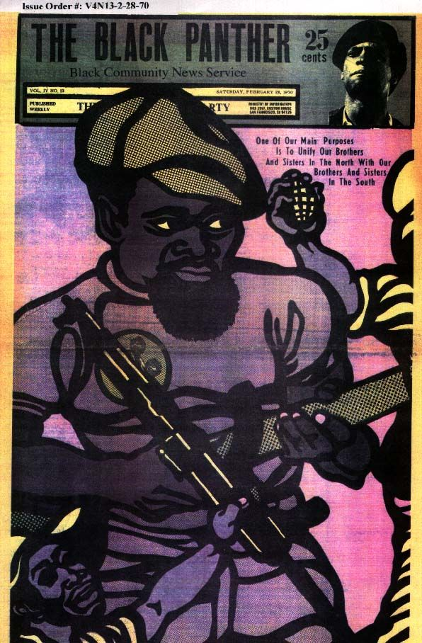 Black Panther newspaper covers from 1969-1971 are now available as posters from Bobby Seale.