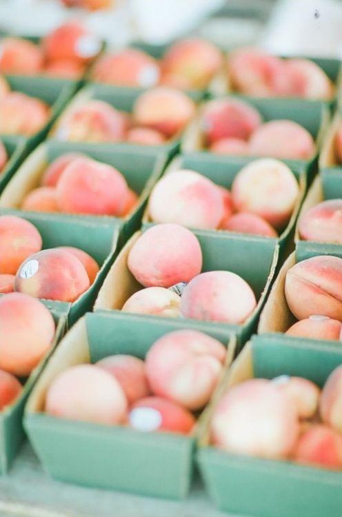 {White peaches.}