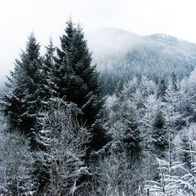 #Winter #mountains #landscape