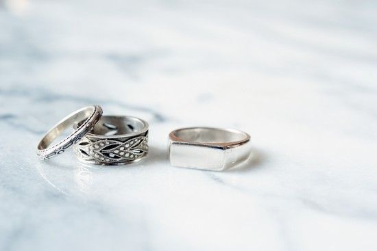Sterling Silver Rings cast from original antiques and made in the South.