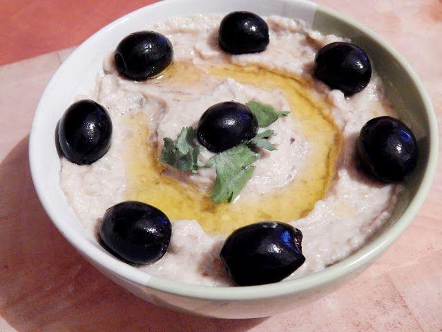 Dip z pečeného lilku - Baba Ghanoush ~ KARIZÓNA - VEGANSKÉ RECEPTY