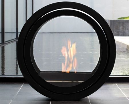 The ROLL FIRE by Sieger Design for Conmoto... indoor, outdoor, events... the possibilites are limitless