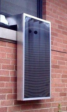 A Solar Window Heater. A second larger style is also on the page.